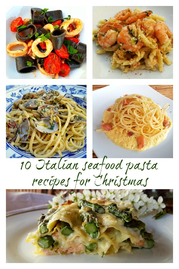 10 Italian seafood pasta recipes for Christmas