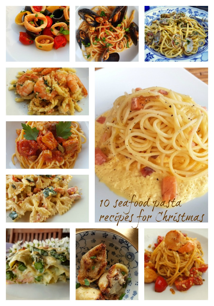 10 seafood pasta recipes for Christmas