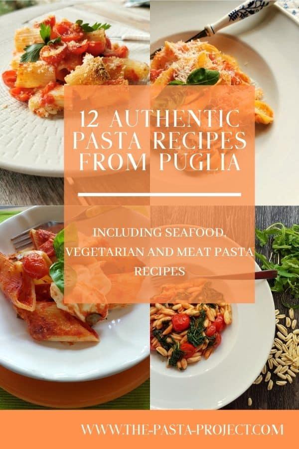 12 authentic pasta recipes from Puglia