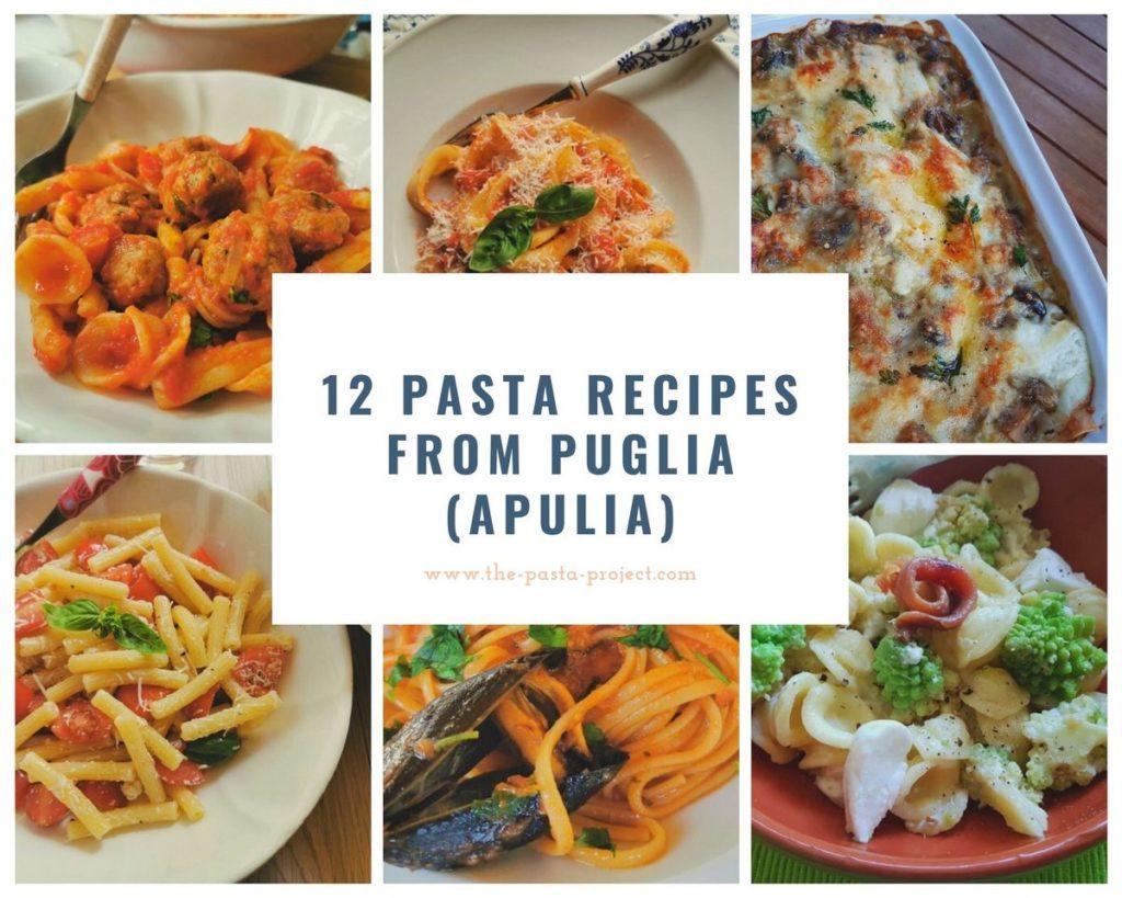 12 pasta recipes from Puglia (Apulia)