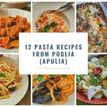 12 pasta recipes from Puglia