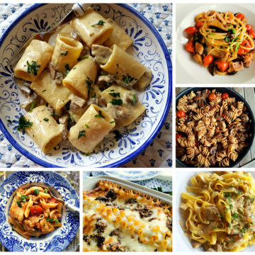 12 mushroom pasta recipes