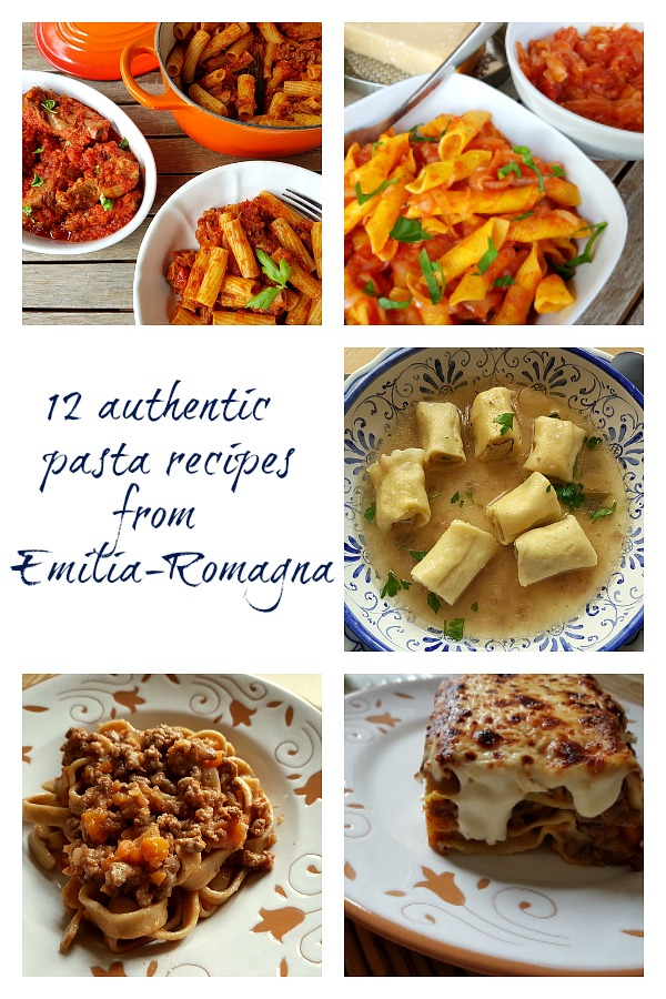 12 authentic pasta recipes from Emilia-Romagna