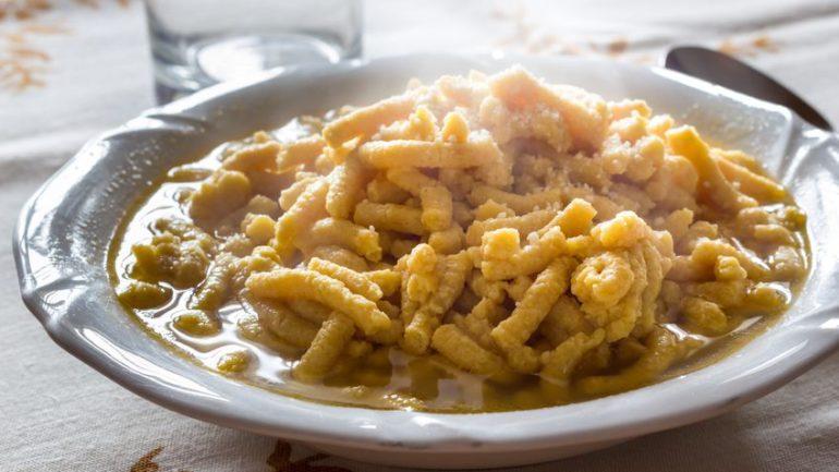 18155557 - passatelli from bologna italy