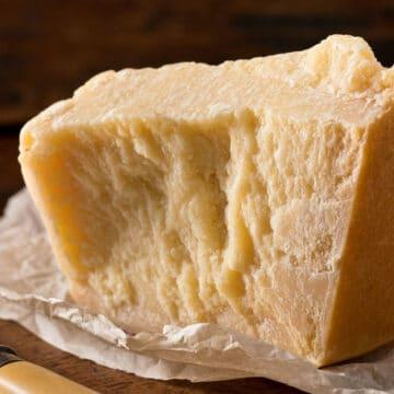 Parmigiano-reggiano comes from Emilia-Romagna