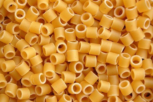 smooth ditali pasta (lisce)