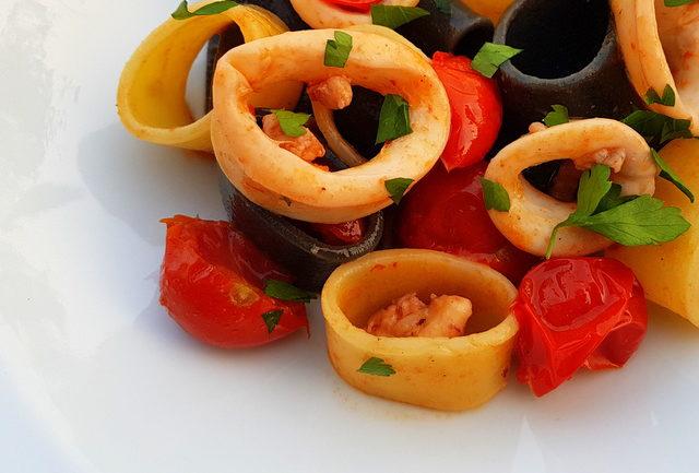 La Calamarata pasta recipe