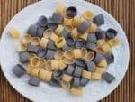 Calamarata pasta from Southern Italy.
