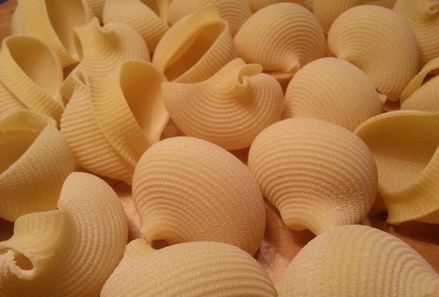 Lumaconi / snail shell pasta