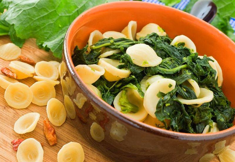 Orecchiette with broccoli rabe Puglia