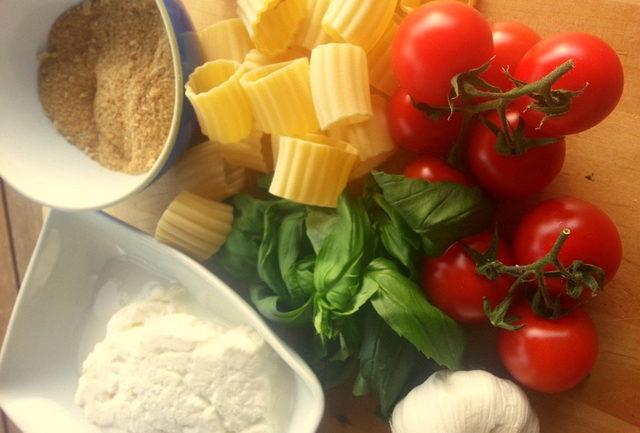 baked pasta alla tranese