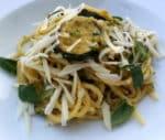 Spaghetti with Fried Zucchini (alla Nerano)