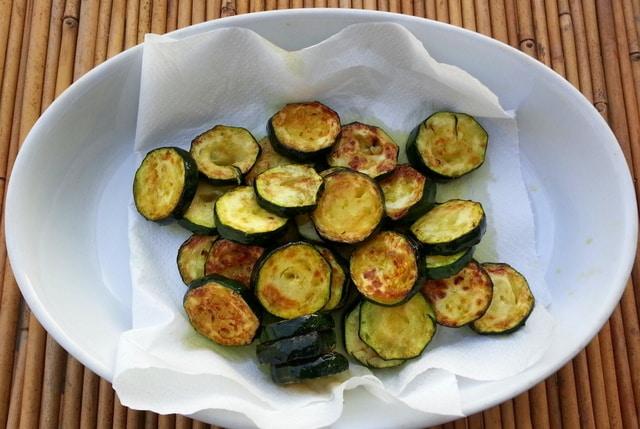 Zucchini for alla Nerano