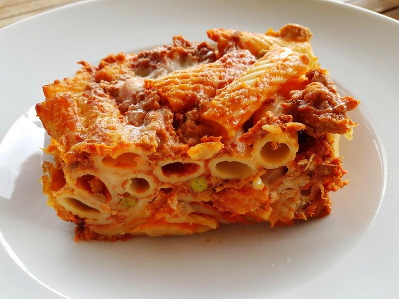 Sicilian baked pasta