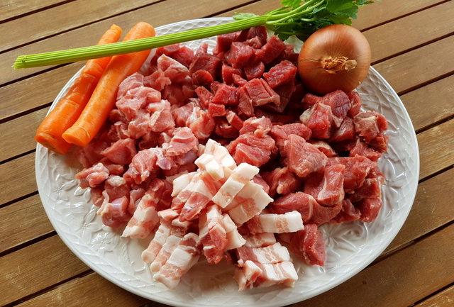4 meat ragu from Abruzzo
