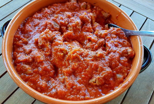 4 meat ragu Abruzzo