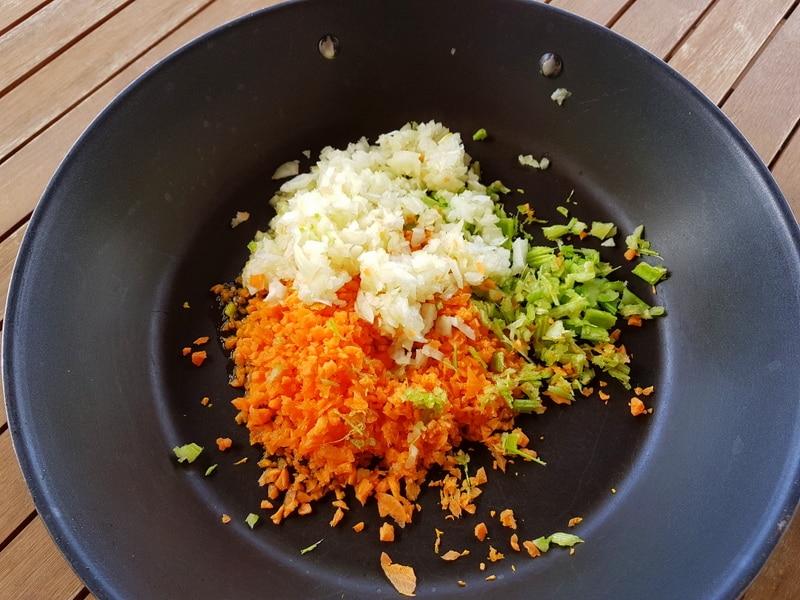 4 meat ragu vegetables