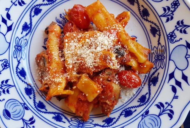 baked candele pasta