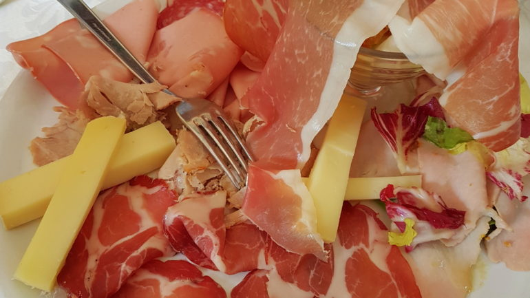 antipasto cold cuts