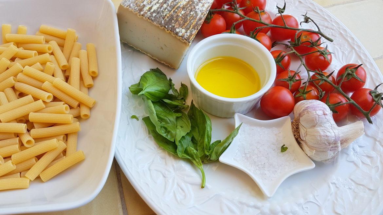 pasta salad crudaiola barese