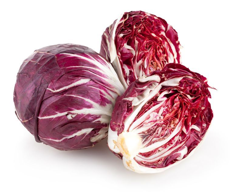 radicchio di chioggia for pesto
