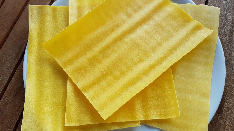 Fresh lasagne lasagna pasta