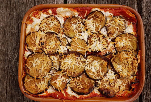 Baked Lasagna alla Norma