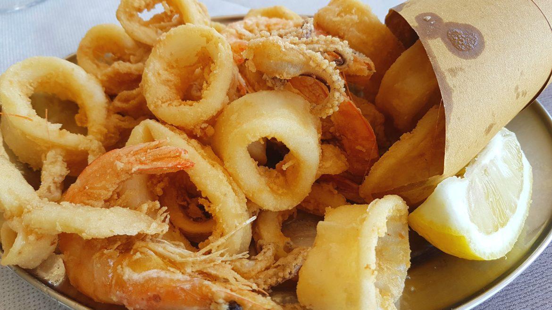 deep fried seafood Lazio