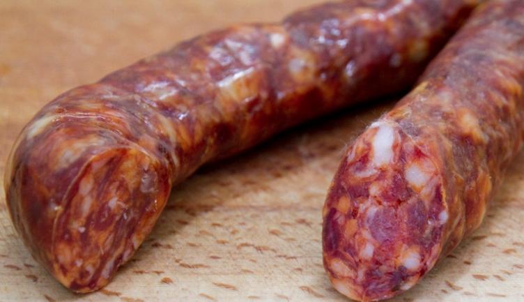 Lucana sausage salsiccia