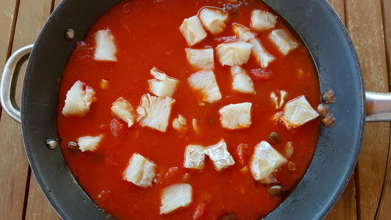 Spaghetti with Baccalà (salt cod)
