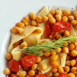 lagane pasta with chickpeas