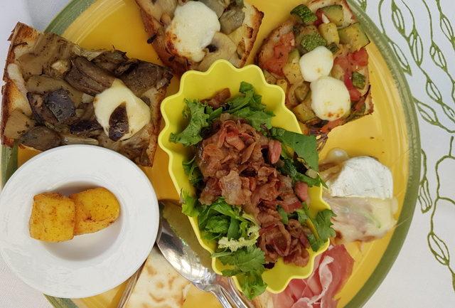 Restaurant Dei Cantoni antipasto