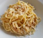 Pasta with Tuna Carbonara
