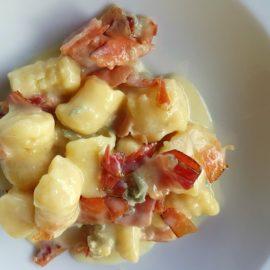 gnocchi with gorgonzola