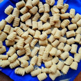 homemade Italian potato gnocchi