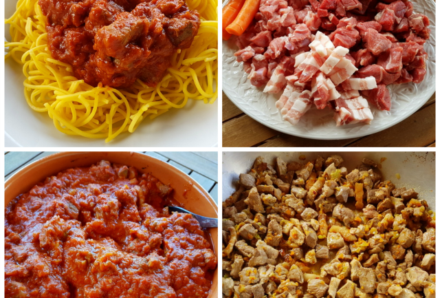 4 meat ragu from Abruzzo