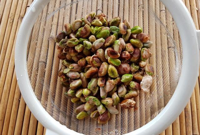 Scialatielli pasta with pistachio pesto