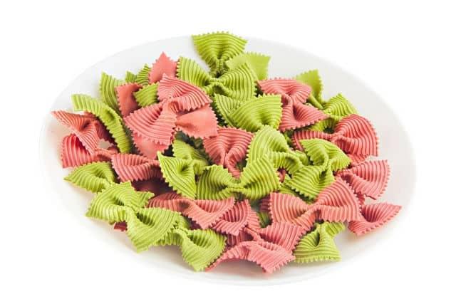 farfalle pasta - bow tie pasta