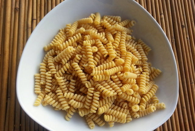 short hollow fusilli bucati corti