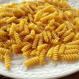 short fusilli pasta