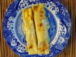 Cannelloni with pumpkin and goat cheese (two ways)