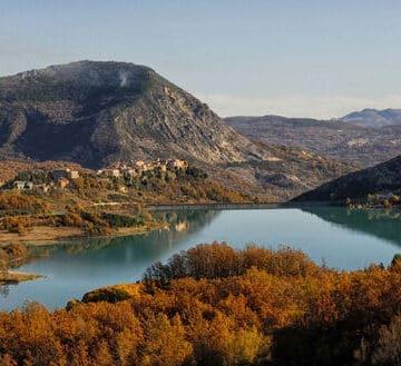 Lake Castel San Vincenzo, Molise