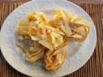 Pappardelle pasta from Tuscany