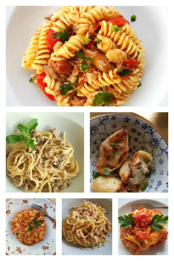 6 Italian canned tuna pasta recipes