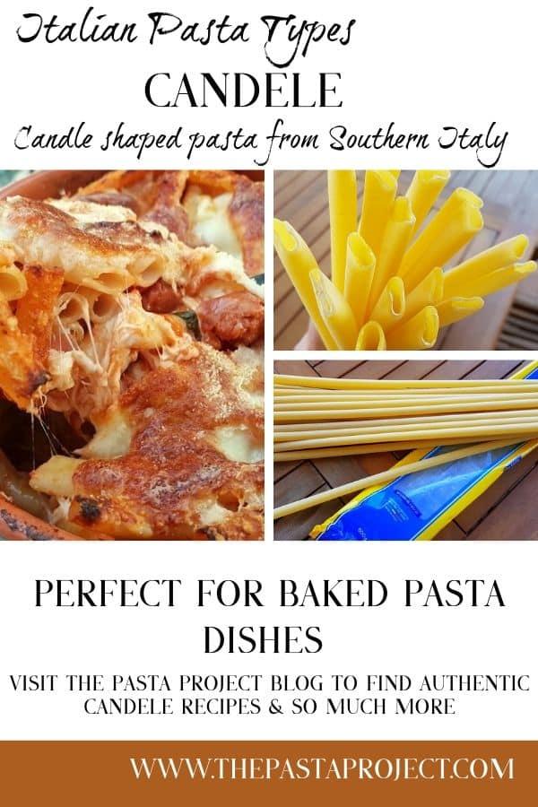 Candele - Italian Pasta Types