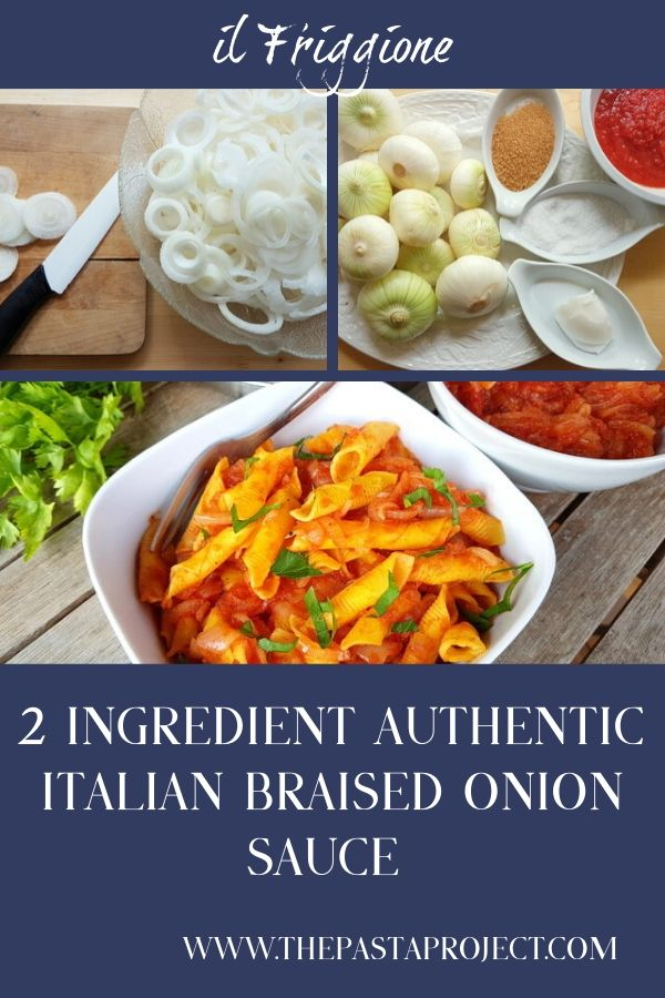 Italian Braised Onion Sauce