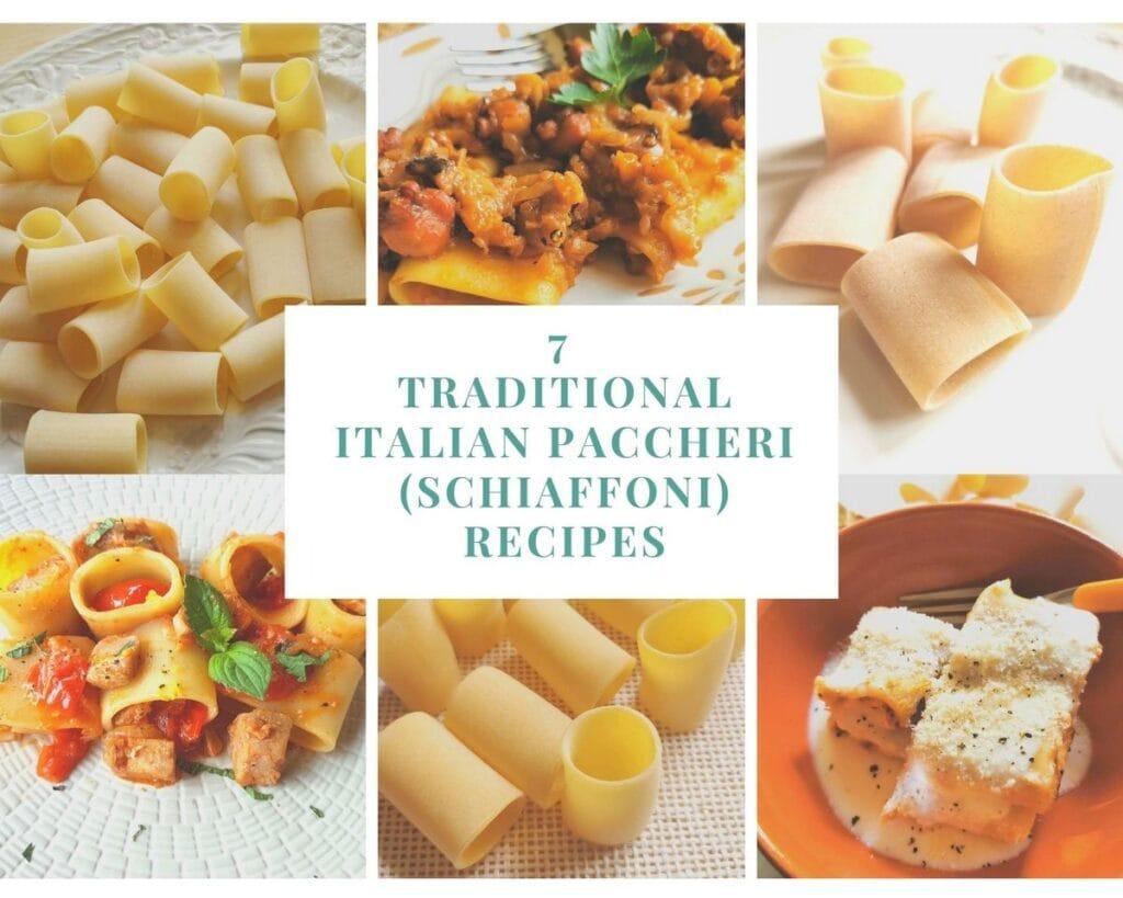 7 traditional Italian paccheri recipes