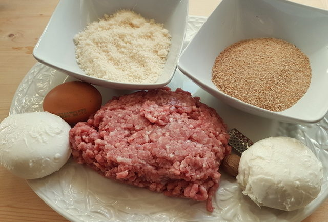 Ingredients for Baked Lasagne in Broth alla Molisana