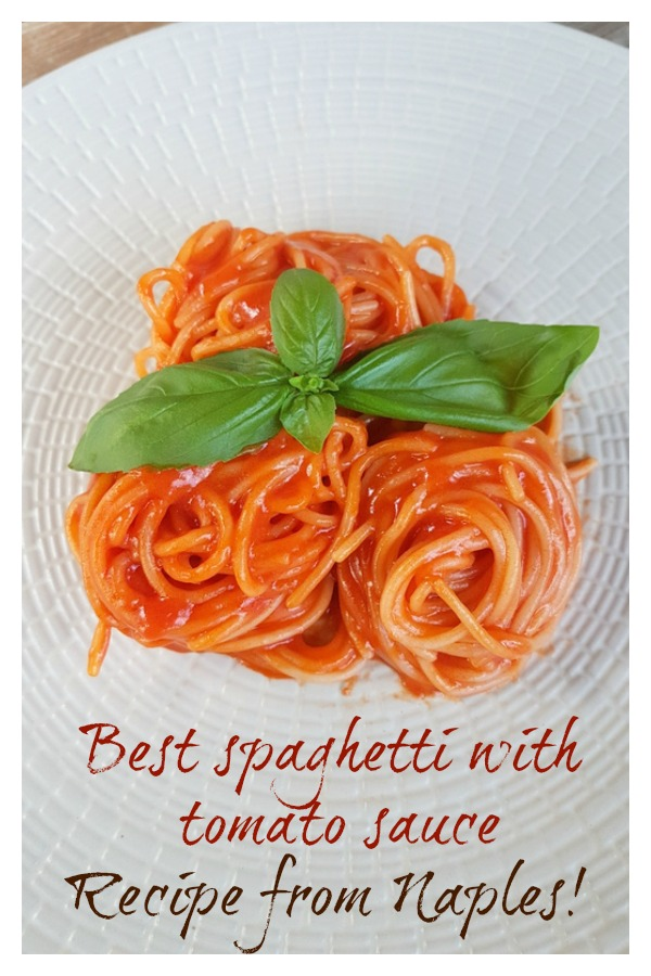 best spaghetti with tomato sauce