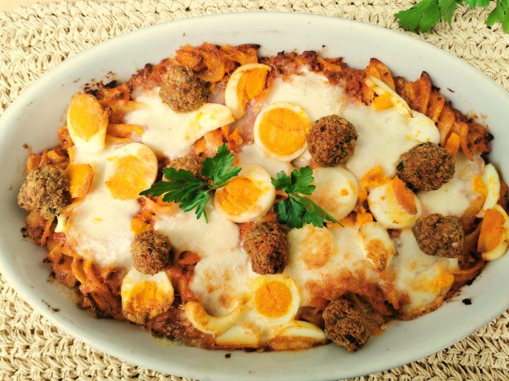 Calabrian baked pasta